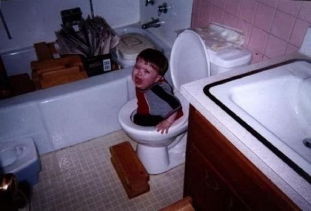 toilet kid