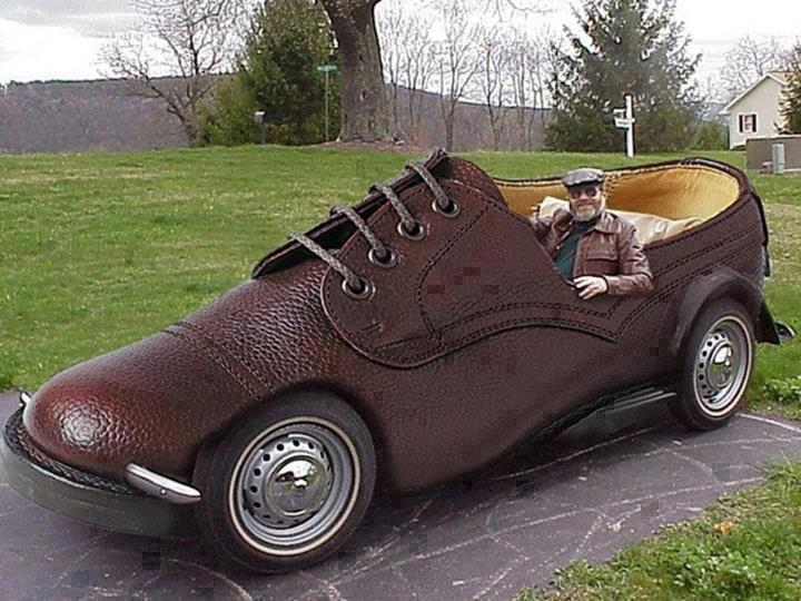 shoe car