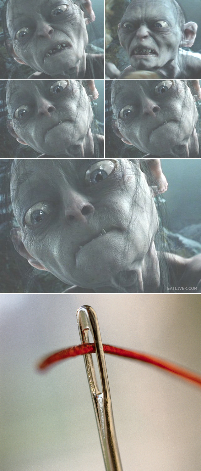 smeagol suffers