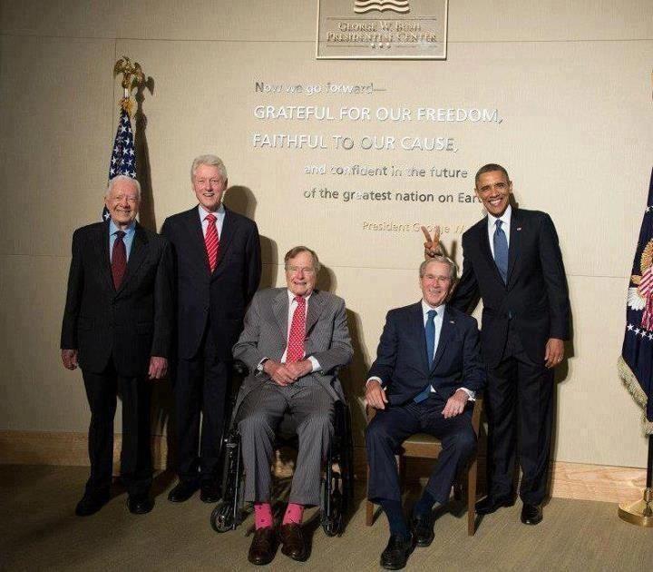 5 presidents