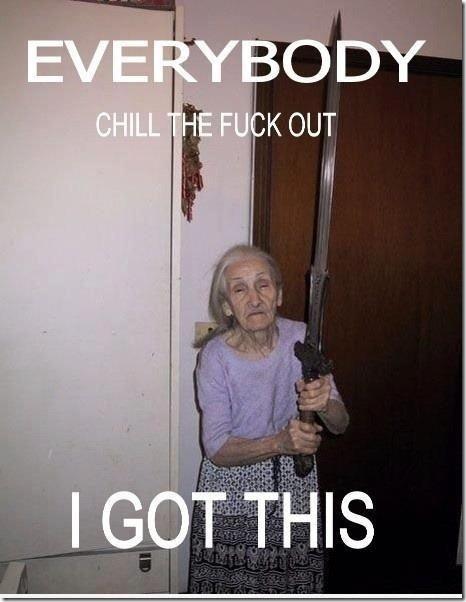 granny got this