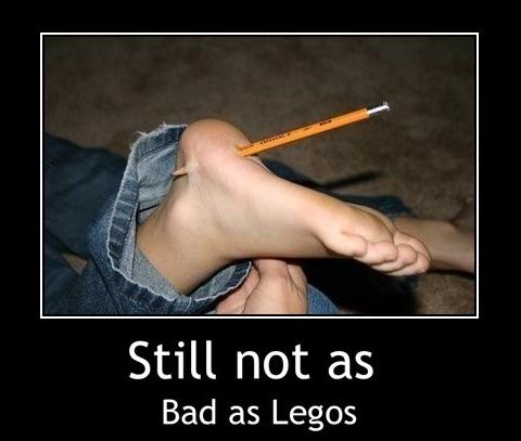 pencil stab